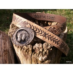"Belt ""left inverse oak"""