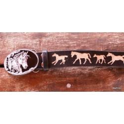 "Belt ""Horses"""